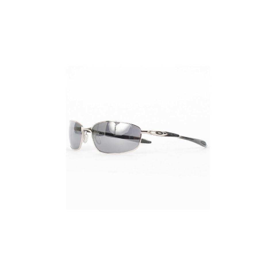 30039dffb Oakley Mens Blender Sunglasses in Chrome/Silver Ghost on PopScreen