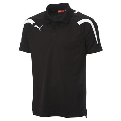 Puma 5.10 Powercat Mens Polo Tee Shirt BLK XL