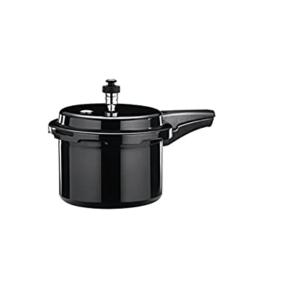 Butterfly Pressure Cooker with Weight Set and Gasket, 3 Litres, Black (C2071A00000)