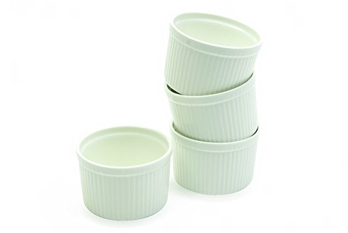 White Basics Collection, Ramekins (Set of 4), 4