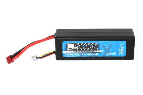 XciteRC-56600020-Energy-XXL-Performance-Lipo-Batterie-Pack-40C-3S-Hardcase-und-T-Anschlustecker-111-V-4000-mAh