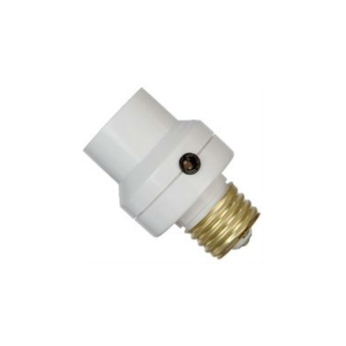Dusk To Dawn Light Socket Photocell, White [Misc.]