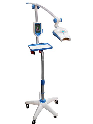 Doc.Royal LED Light Mobile Teeth Whitening Machine MD885 with Two Goggles (MD-885L with Tray Blue)