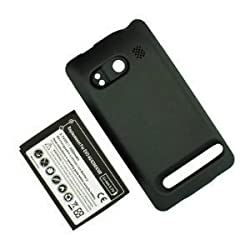 SANOXY 4G 3500mAh Extended Battery + Cover for HTC Evo