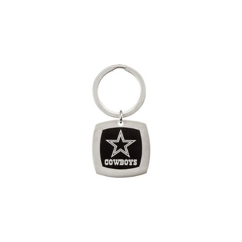 24596 St Steel 35mm Dallas Cowboys Logo Keychain Football NFL Men Team Jewelry