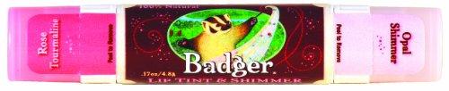 Badger リップティント-0 - shimmer rose tourmaline