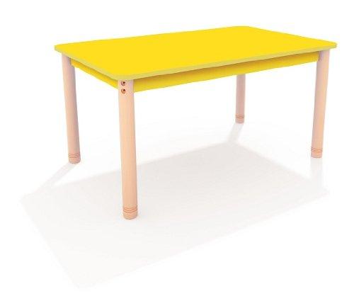 "Tisch Standard ""Happy Color"" 70 x 120 cm, farbig blau"