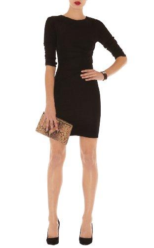 Draped Front Jersey Dress