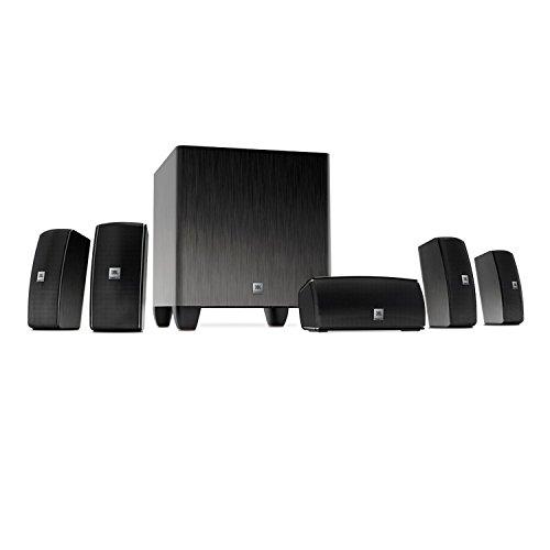 JBL-Home-Cinema-610-51-Heimkino-Surroundsound-Lautsprechersystem-mit-60-Watt-Aktivem-Subwoofer-und-5-Satellitenlautsprechern-Plug-and-Play-Einfach-zu-Installierendes-System-Schwarz