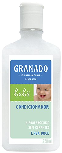 Linha Bebe Granado - Condicionador Bebe Erva Doce 250 Ml - (Granado Baby Collection - Fennel Baby Conditioner 8.5 Fl Oz) - 1