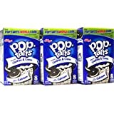 Kelloggs Cookies and Cream Pop Tarts 400g (Pack of 3)
