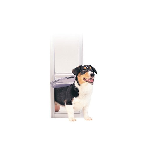 Petsafe Freedom Patio Panel Pet Puppy Dog Cat Flap Safety Entry Exit Door- Large Tall / Satin