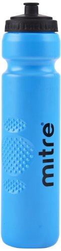 Mitre Waterbottle - Silver, 1 Litre Blau blau Blau