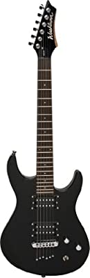 Washburn RX Series RX6B Electric Guitar, Double Cut Bolt, Black