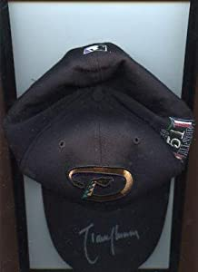 1999 Randy Johnson Arizona Diamondbacks Autographed All Star Cap LOA - Autographed... by Sports+Memorabilia