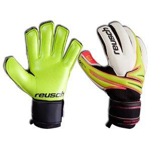 Reusch Argos Pro SG Ortho Tec Goalie Glove, Lime/Lime Palm, 9