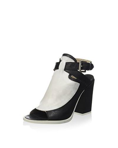 Hangar 18 Sandalette schwarz/weiß
