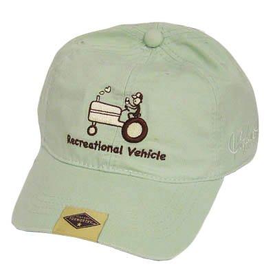Jeff Foxworthy Vintage Green Redneck Hat Cap Tractor