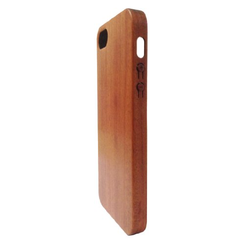 Handcrafted Slim Red Sandalwood 100% Natural Wood Case Iphone5S Wood Cover Skin For Apple Iphone5 Wood Cases Skins Covers