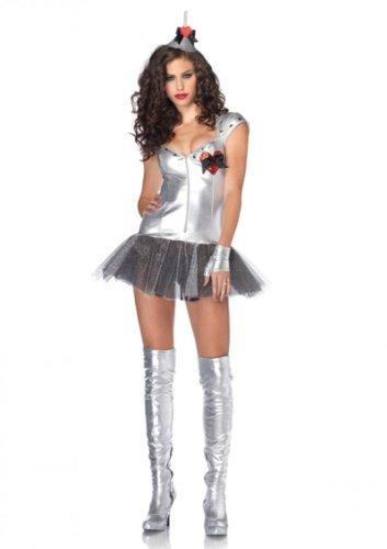 Women's 3 Piece Tin Man Costume