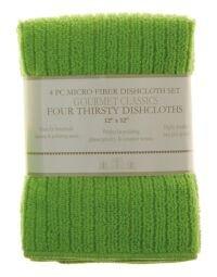 Harolds Imports, Micro Fiber Dish Cloths, Green,