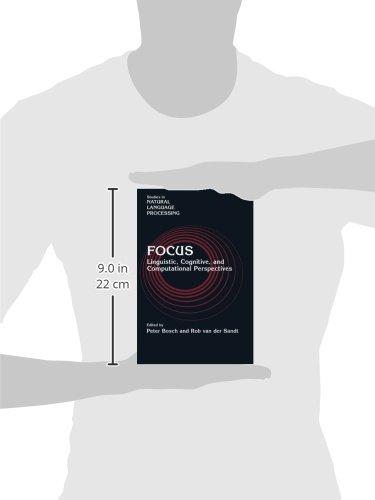 Focus Paperback (Studies in Natural Language Processing)