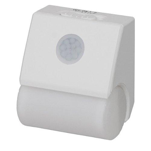 アイリスオーヤマ プラグ式LEDセンサーライト PSL-1A 白色