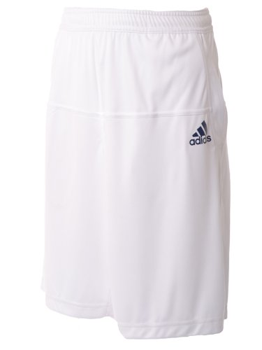 Adidas Mens Edge Bermuda ClimaLite Tennis Shorts - White - P93100