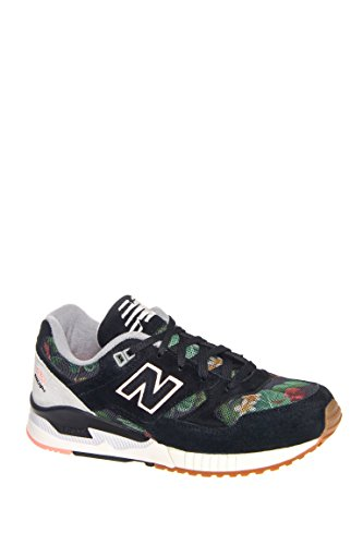 530 Floral Ink Low Top Sneaker