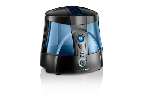 Image of The Sharper Image Ultrasonic UV Humidifier (B007J5S5OM)
