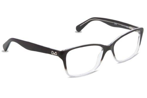 D&G Dd1246 Eyeglasses-2602 Black Gradient Gray-52Mm