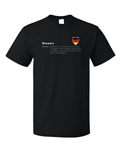 riesen-definition-funny-german-last-name-unisex-t-shirt-adultxl