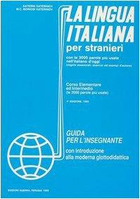 La Lingua Italiana Per Stranieri
