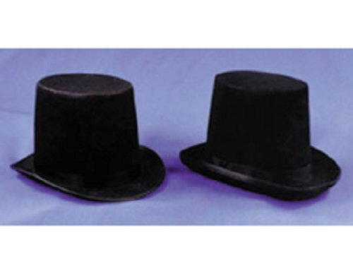 Morris Custumes Men's Felt Stovepipe Hat