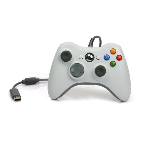 Wired Usb Controller For Pc & Xbox 360 (White)