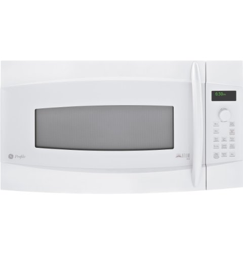 Profile Advantium 120 Over The Range Microwave Oven with Speedcook Technology Over 175 Preprogrammed Recipes and 2 Full-Width Oven Racks For Multi-Level Cooking White