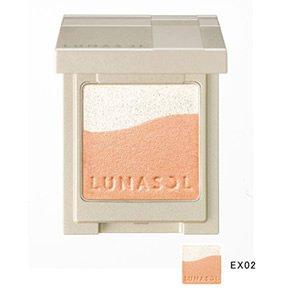 ルナソルサンドパステルアイズ #EX02 Light Orange