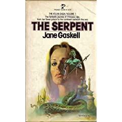 The Serpent (Atlan Saga, Volume 1) by Jane Gaskell and Boris Vallejo