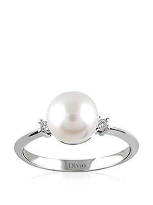 Divas Diamond Anillo (plata de ley 925 milésimas)