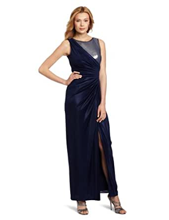 Simple Veiled In Sunset Dress For Women  Aoope