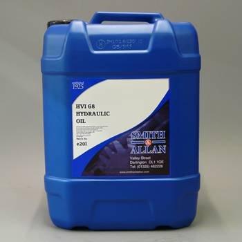 Smith & Allan HVI 68 Hydraulic Oil : Size - 20lt