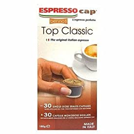 Bennoti the Original Italian Espresso Coffee Long Lasting Rich & Creamy Taste (900 Capsules, Top Classic)