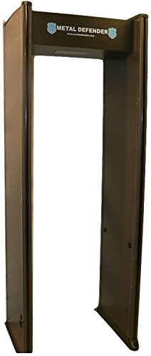 6 Zone Walk Through Metal Detector by Titan Security NEW Warranty