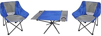 Ozark Trail SW17308 3-Piece Portable Table and Chair Set