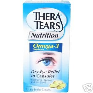 Thera Tears Nutrition for Dry Eyes (90 capsules)