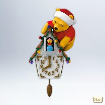 Hallmark 2012 Keepsake Ornaments QXD1031 Pooh-koo Clock ~ Winnie The Pooh