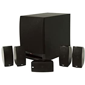 Klipsch HD Theater 1000 - 5.1-channel home theater speaker system - 700 Watt (total) - black