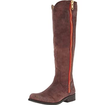 Subtly distressed leather and Western-inspired stitching further the rugged charm of an essential riding boot. Color(s): black leather, brown leather. Brand: Steve Madden. Style Name: Steve Madden 'Ruse' Boot. Style Number: 984568. Manufacturer part ...