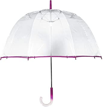 Leighton Umbrellas Lollipop Bubble,One Size,Fuschia