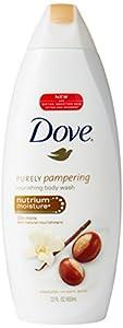 Dove Nourishing Body Wash Nutrium Moisture, Shea Butter with Warm Vanilla, 22 Fluid Ounce